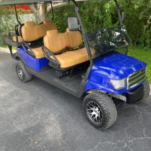 Condition: Refurbished Year: 2017 Make: Club Car Model: Precedent Power Type: Electric Seating Capacity: 6 Passenger Location: Boynton Beach, FL 33436 Price: $15,995 OPTIONS & ACCESSORIES Battery Fill System|Custom Interior|Custom Wheels|Dash Tray|Fan|Lift Kit|Light Kit|Radio|Seat Belts|Turn Signals ADDITIONAL INFORMATION 2017 CLUB CAR PRECEDENT FULLY REFURBISHED AND LOADED!! 48V ELECTRIC NEW BATTERIES COMPLETELY STREET LEGAL! BLUE TOOTHE BAZOOKA LIGHTED SOUND SYSTEM SEAT BELTS LIGHT KIT HORN HEAD LIGHTS AND TAIL LIGHTS NEW ALPHA BODIES TURN SIGNALS WINDSHIELD WIPER 6″ LIFT CUSTOM WHEELS NEW A/T TIRES TRIANGLE SIDE MIRRORS 5 PANEL MIRROR EZ BREEZY FAN NEW CUSTOM KING RANCH INTERIOR SPEED AND BATTERY LEVEL INDICATOR SPEED GEAR PACKAGE!! (SHE'S FAST FOR A 6 PASSENGER!) CHARGER SAVE $6000 AS OPPOSED TO A NEW ONE! HARD TO FIND!!! HAS EVERY OPTION